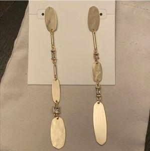 New Kendra Scott Gold Earrings